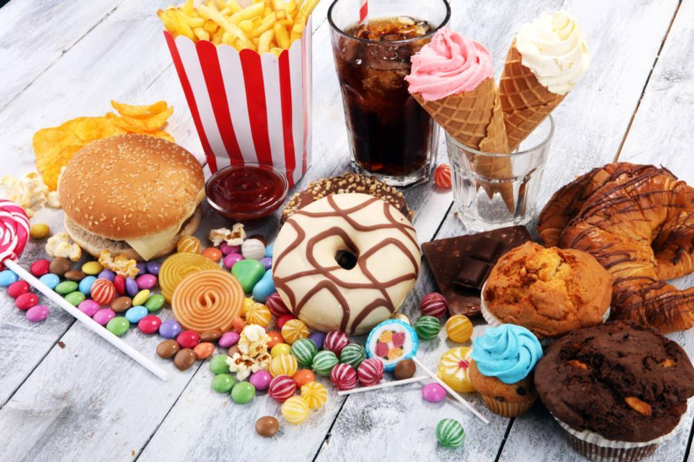 Image of sweets and other sugar filled foods
